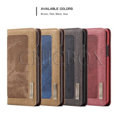 CaseMe 006 Original Leather Magnetic Wallet Card Flip Stand Case Cover