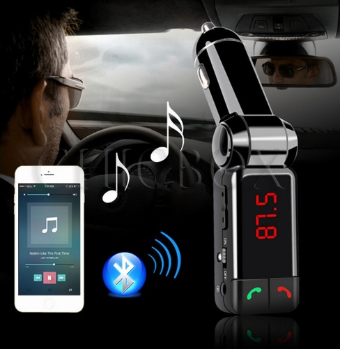 BC06 Car Kit MP3 Music Player Wireless Bluetooth FM Transmitter Radio With 2 USB Port_w_retail packa